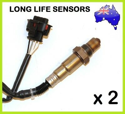 2x NEW Holden COMMODORE VZ VE 3.0L 3.6L Rear Oxygen Sensor O2 Colorado Rodeo