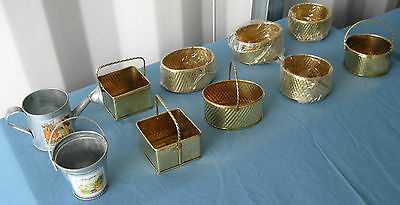 10 pcs. New Mini Assorted Tin/Brass Collectible! 10AMTB FREE SHIPPING!
