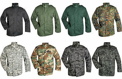 M65 Herren Jacke US Army Feldjacke 2in1 Parka Winterjacke BW Outdoorjacke Jacket