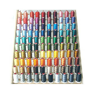 THREADELIGHT 100 CONES POLYESTER MACHINE EMBROIDERY THREAD 1100yds 40wt