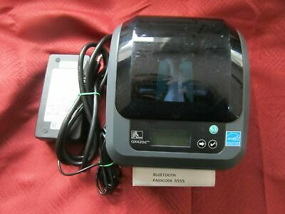 Zebra ZP 450 Label Thermal Printer USB With Power Supply UPS