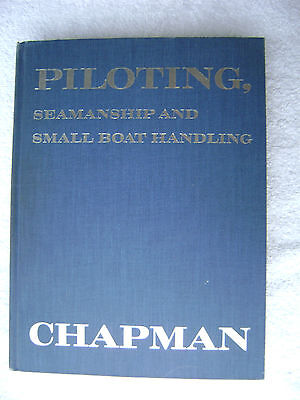 1968 Chapman Piloting Maritime Nautical Marine (#022)