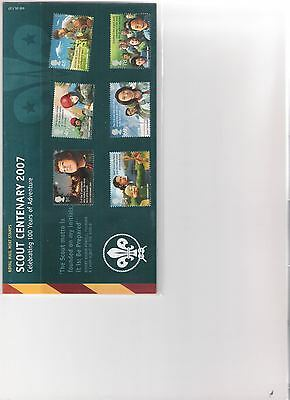 2007 Royal Mail Presentation Pack Scout Centenary 100 Years Of Adventure