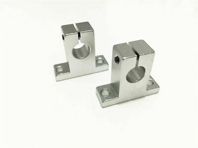 4pcs SK20 20mm Aluminum Linear Rail Shaft Guide Support Bearing SH20A CNC Parts