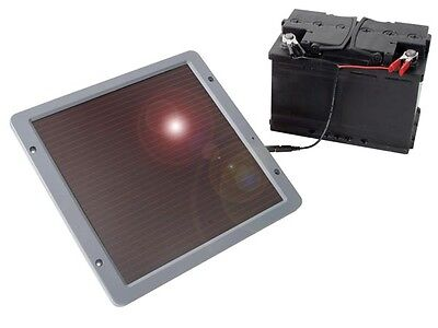 Solar Cell Trickle Charger for 12V Battery (car/boat)