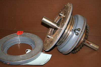 Electric clutch and brake assembly on shaft Warner Electric Unused