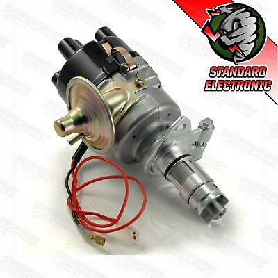 Land Rover Series 2 & 3 ELECTRONIC distributor & red rotor arm