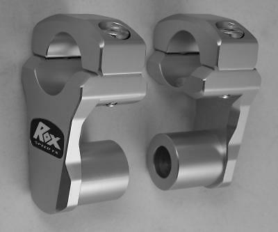 Rox Risers LOW PRO to fit 28mm bars BMW F800GS, KTM 950/990 ADV (3R-P2PPL)