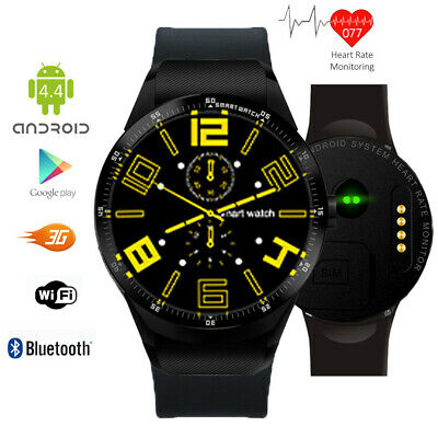 Unlocked! 3G GSM Watch & Smartphone (Android 5.1 + WiFi + Bluetooth Sync + GPS)
