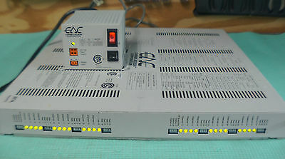 Carrier Access CAC ABII AB II Bank 24 FXS T1 Multiplexor power supply
