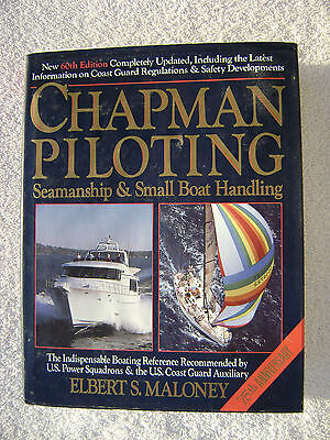60Th Chapman Piloting Book Maritime Nautical Marine (#038)