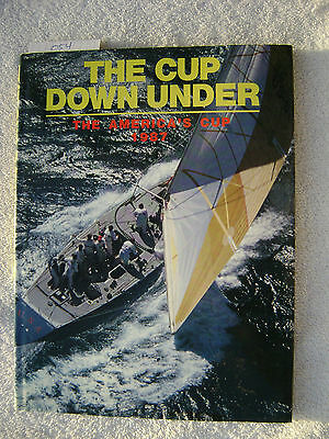 The Cup Down Under Book Maritime Nautical Marine (#054)
