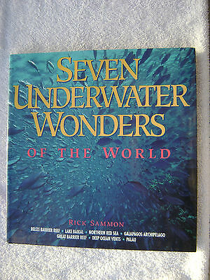 Seven Underwater Wonders Of The World Book Maritime Nautical Marine (#055)