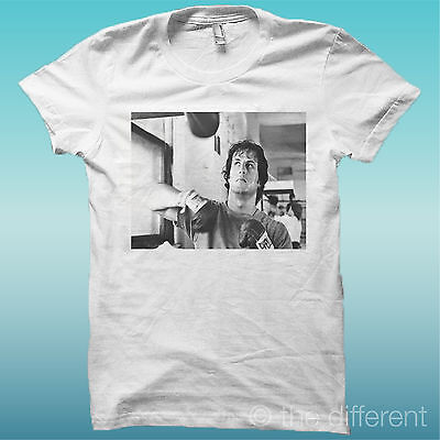 """T-Shirt """" Rocky Balboa Allenamento """" Bianco The Happiness Is Have My T-Shirt New"""