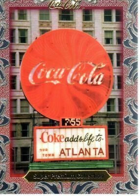 COCA COLA SUPER PREMIUM COLLECTION CARD n°50