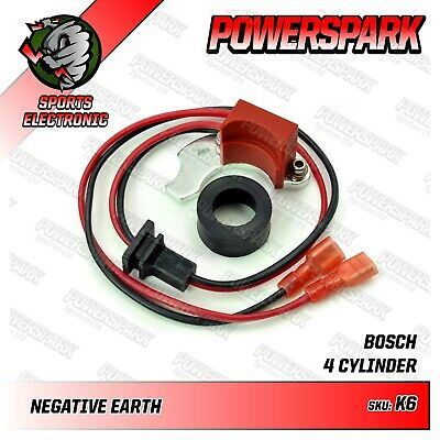 VW T1, T2, T3 Powerspark Electronic Ignition Kit for Bosch JFU4 Distributor