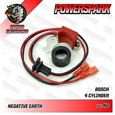 VW T1, T2,T3 Powerspark Electronic ignition for Bosch JFU4 distributor
