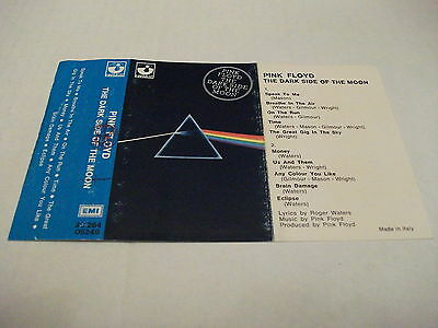 PINK FLOYD - THE DARK SIDE OF THE MOON (stereo 7 - solo copertina musicassetta)