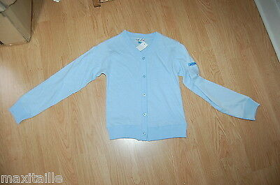 Gilet Teen S Moving Haut Pull  Coton   Neuf Taille 9/10 Ans