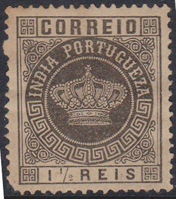 (W23) 1877 Indian Portugal 1 ½, 4 ½ and 6R ow241 to 243