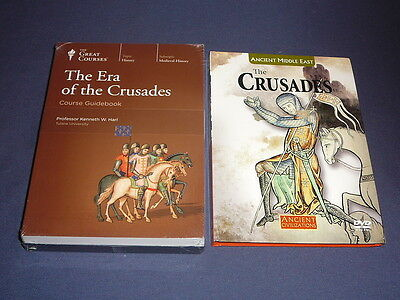 Teaching Co Great Courses DVDs        ERA of the CRUSADES        newest  + BONUS