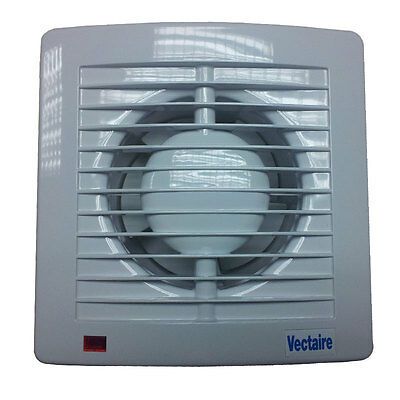 Vectaire AS10 PLUS High Performance Slimline Extractor Fan With or Without Timer