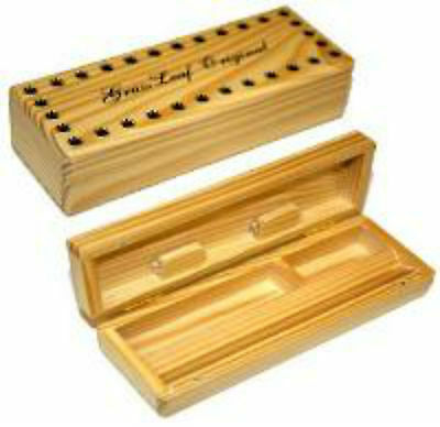 Grassleaf Wooden Rolling Box Smoking Small Original Cigarette Stash Box!