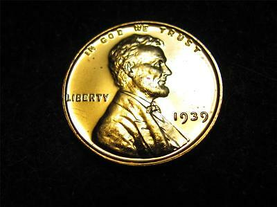 1939 GEM PROOF Lincoln Wheat Cent FREE Shipping
