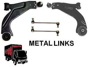 Mondeo 3 2000-2004 Lower Wishbone Arms Front Anti Roll Bar Metal Links X 2