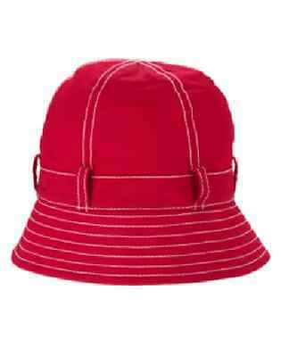 NWT Gymboree BURST OF SPRING Red Cloche Hat 2T 3T or 4T 5T Upick