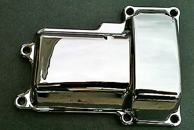 Transmission Top Cover Chrome Harley Dyna Fxd Super Glide Fxdl Low Rider 06-08