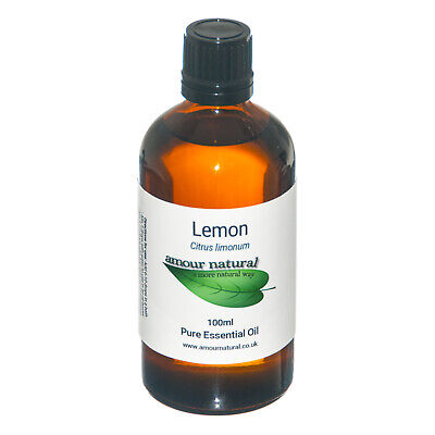 Lemon Essential Oil Pure & Natural Aromatherapy Diffuser 10ml 50ml 100ml Amour