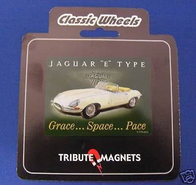 Jaguar E-Type Fridge Magnet (Fm2) New