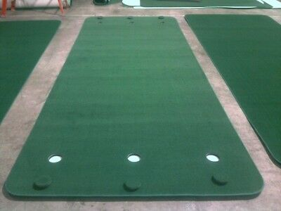NEW Big Moss Golf SUPER G 6' X 15' Practice Putting Chipping Green w/ 6 Cups