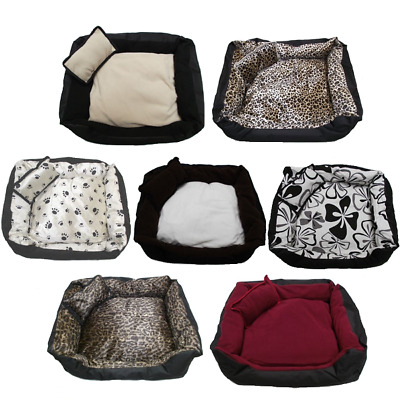 Dog Cat Puppy Bed Waterproof Base Washable Pet Bed - Small Medium Large Xl Xxl