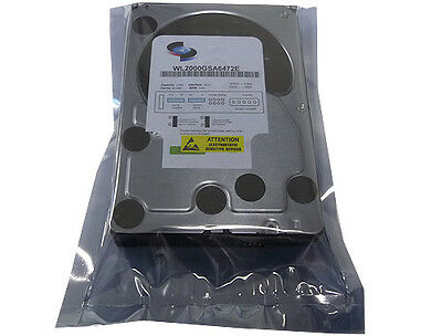 "WL (2000GB) 2TB 7200RPM 64MB Cache SATA 3.0Gb/s 3.5"" Hard Drive -FREE SHIPPING"