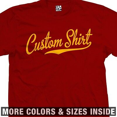 Personalized w// Your Text More Sizes /& Colors Custom Gothic Thug T-Shirt