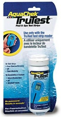 AQUACHEK TRU TEST Strips DIGITAL CHLORINE READER REFILL TRUTEST STRIPS 50 Count