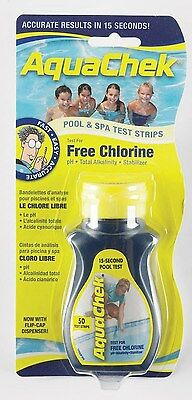 Aquachek Yellow Test Strips Aquacheck Swimming Pool Chlorine PH Alkalinity 4 - 1