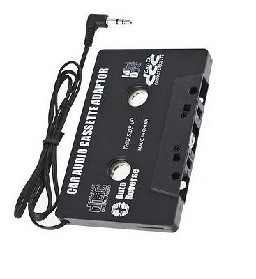 Car Music Audio Cassette Tape aux Adapter Converter 3.5mm Plug ipod mp3 player