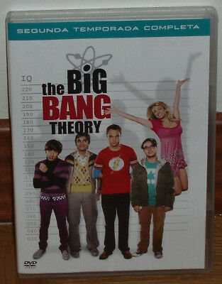 The Big Bang Theory  2º Temporada Completa 4 Dvd Nuevo Serie Comedia (Sin Abrir)