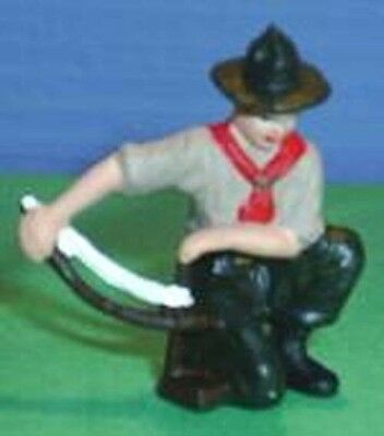 TOY SOLDIERS TIN NORTH AMERICAN BOY STARTING FIRE 54MM