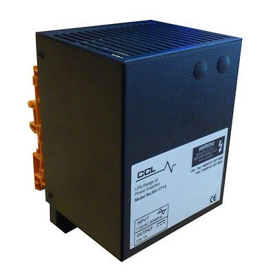 LPS Mounted Enclosure 12W DIN Rail Regulated Linear Power Supply 115VAC PSU 12V