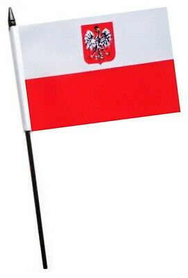 Poland Eagle Small Hand Waving Flag