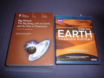 Teaching Co Great Courses DVDs              BIG  HISTORY      new + BONUS