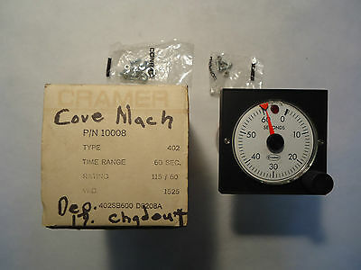 New In Box Cramer Type 402/403 Reset Timer