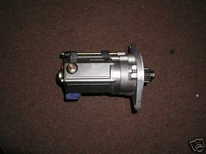 Gear Reduction Starter - Jaguar, 4.2 'E' Type