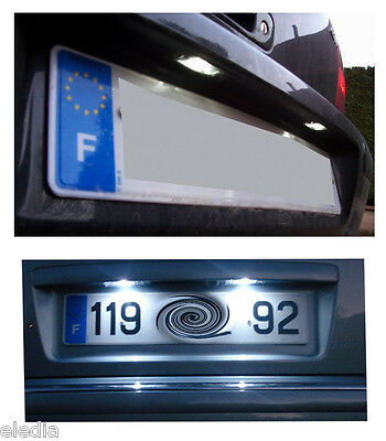 JETTA 3 MK5  2 Ampoules Plaque immatriculation LED Blanc Anti erreur ODB Canbus