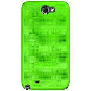 AMZER Snap On Hard Case Cover For Samsung Galaxy Note II GT-N7100 - Neon Green