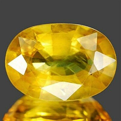1.55 CT~ Yellow Sapphire Oval Natural Gemstone